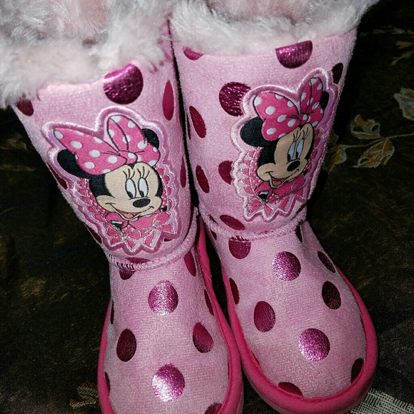 Disneys Minnie Mouse Toddler Boots
